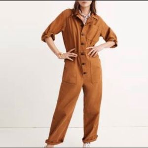 Madewell x As Ever™ Short-Sleeve Coveralls  XS